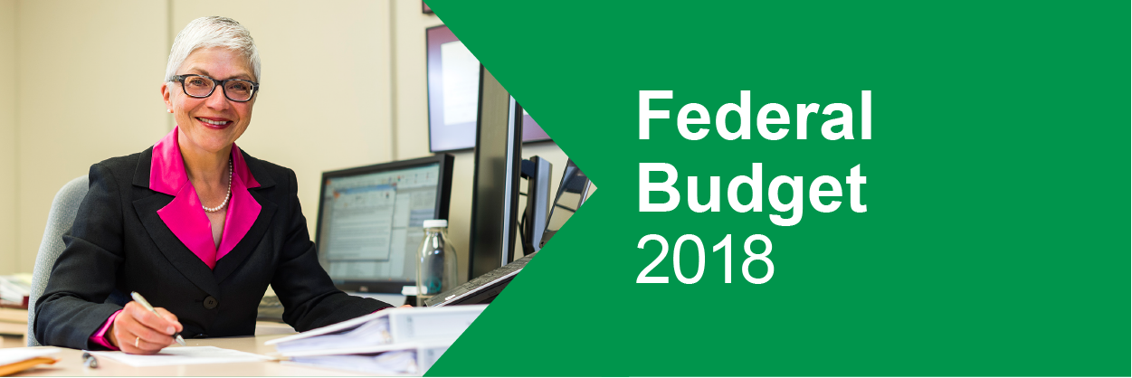 Federal Budget Highlights 2018