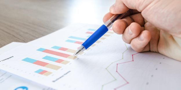 Graphs and charts showing how to assess reasonable return on private company share