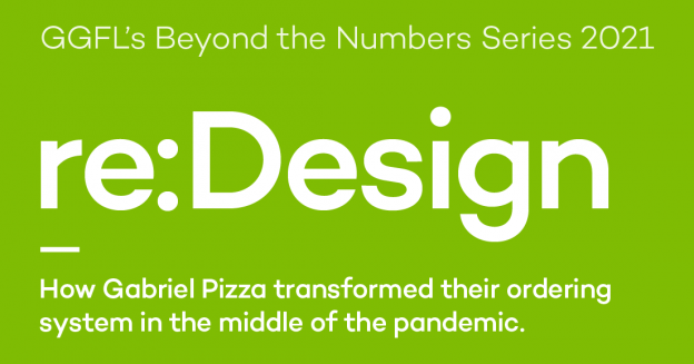 Heading sayind Redesign How Gabriel Pizza transformed their ordering system in the pandemic