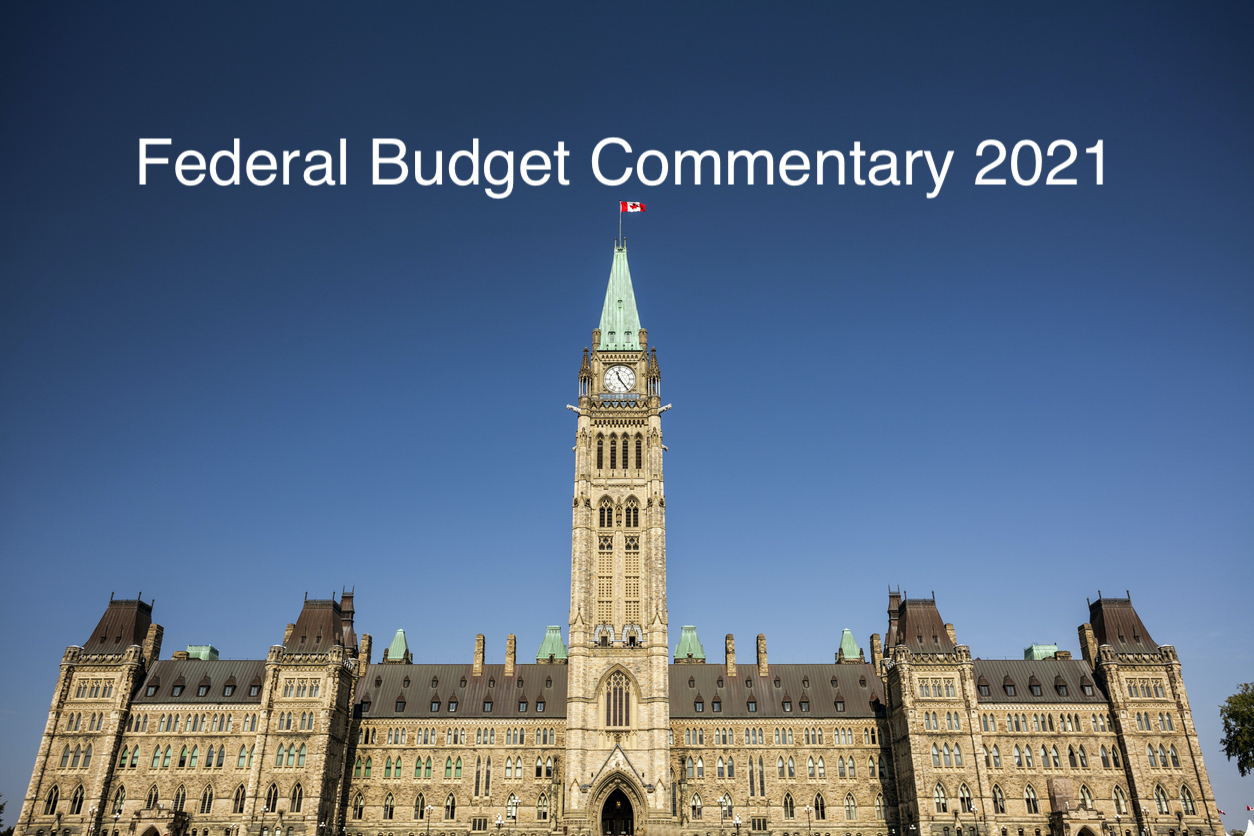 Federal Budget Commentary 2021